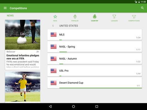 Resultados de Fútbol captura de pantalla 9