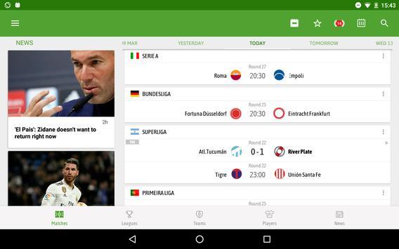 BeSoccer تصوير الشاشة 11