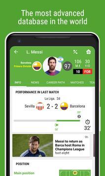 Resultados de Fútbol captura de pantalla 1