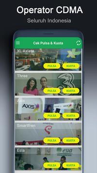 Cek Pulsa & Kuota screenshot 1