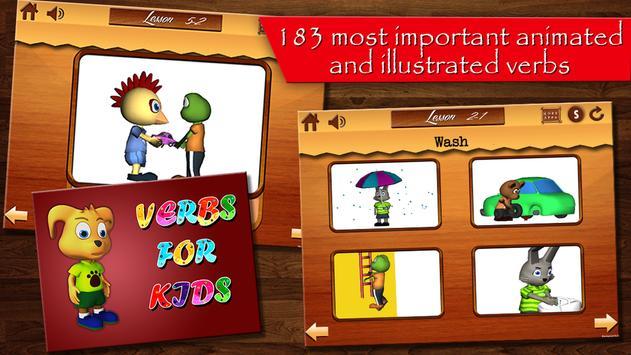English Verbs for Kids-Part 1 screenshot 10