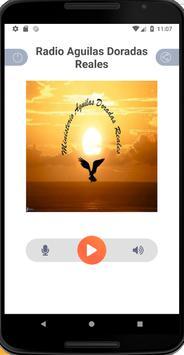 Radio Aguilas Doradas Reales screenshot 1