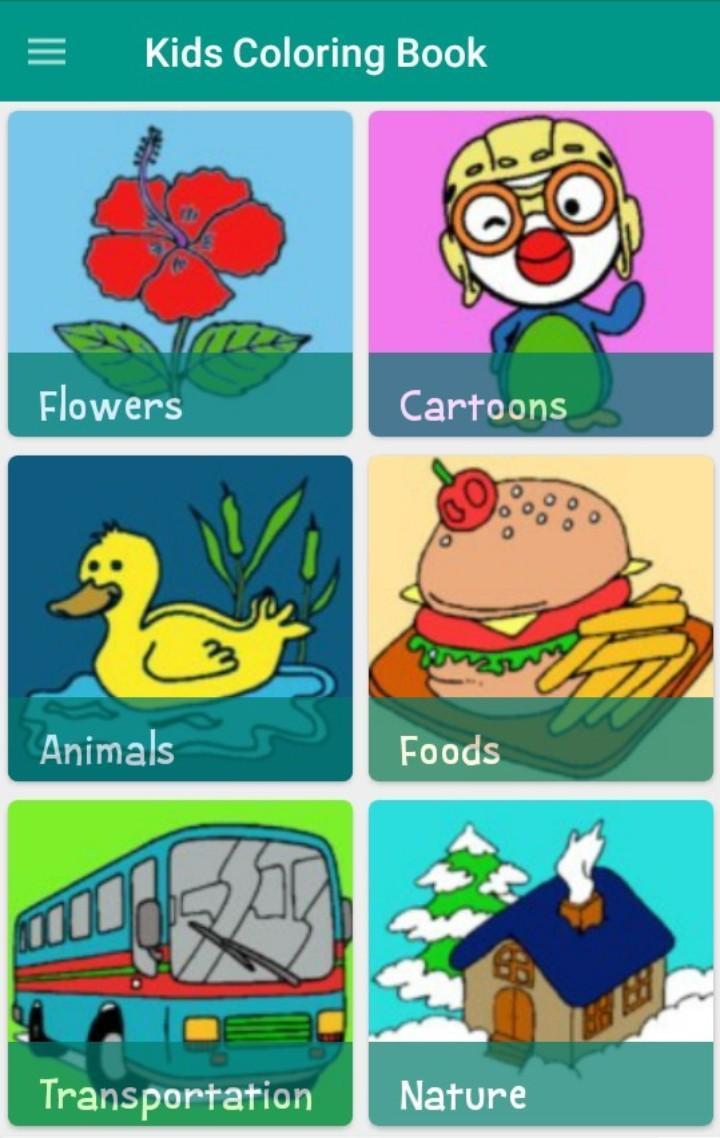 Buku Mewarnai Untuk Anak For Android APK Download