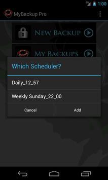 My Backup स्क्रीनशॉट 6
