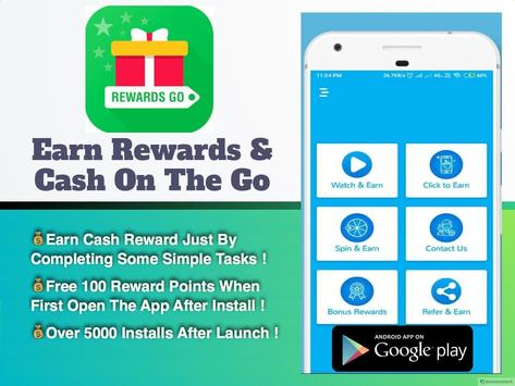 Reward Go - Best Money Making App and Reward App screenshot 1