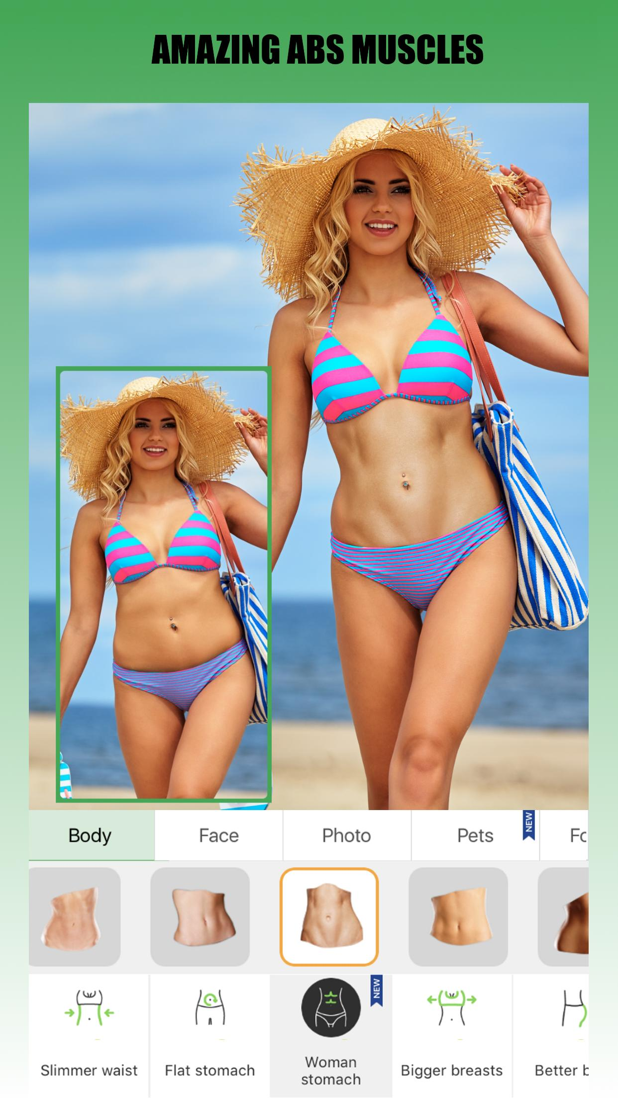 Retouch Me – Body editor & Face tune & Skinny app for