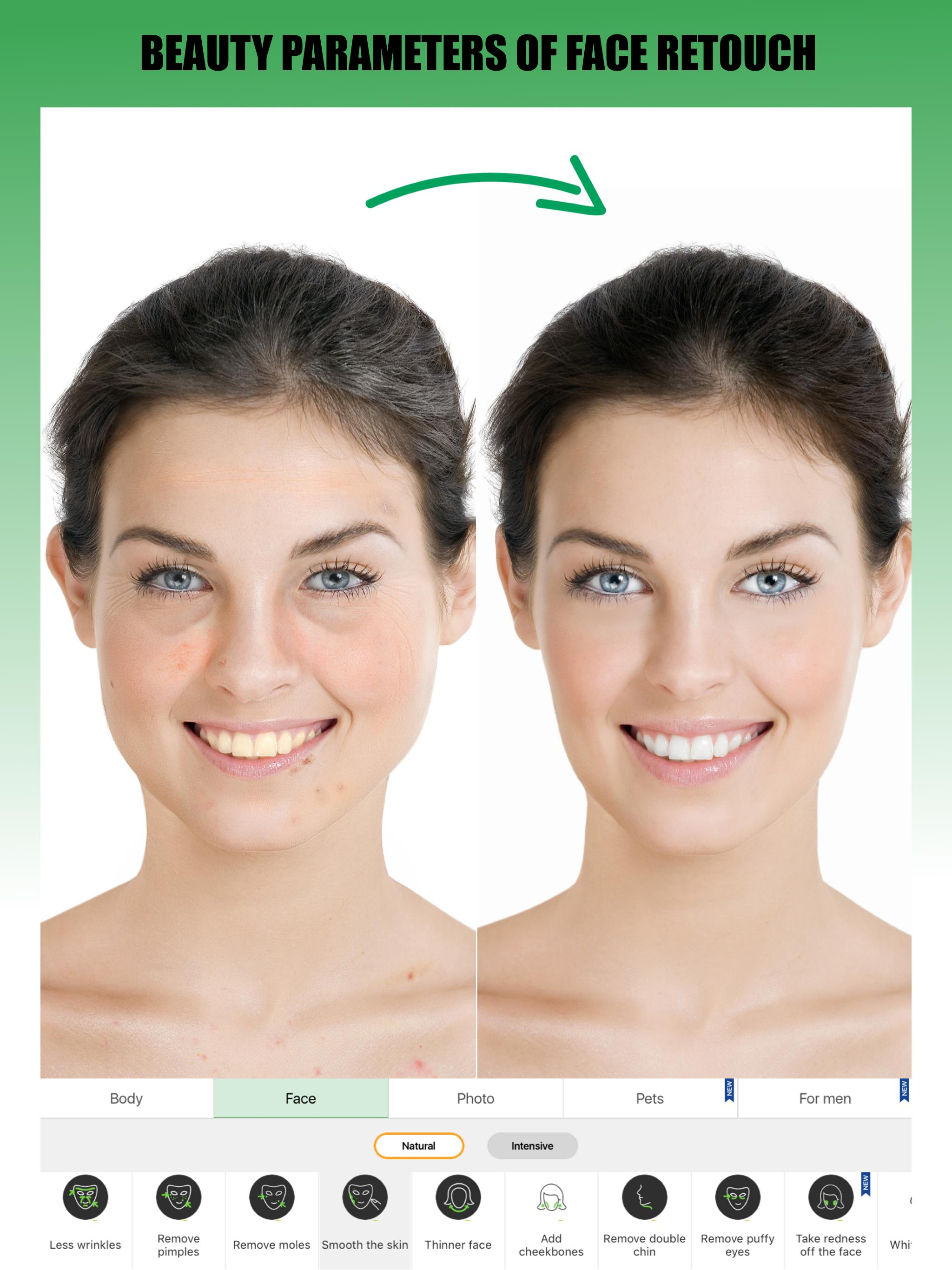 Retouch Me – Body editor & Face tune & Skinny app for Android - APK