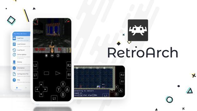 RetroArch पोस्टर