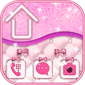 Pink Bow Launcher icon