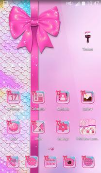 Pink Bow Launcher screenshot 6