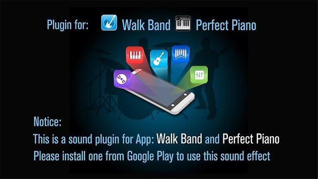 Guitar Sound Effect Plugin ポスター