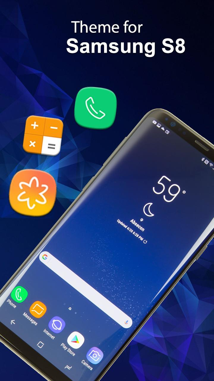 S8 Edge Launcher Themes And Wallpaper Hd For Android Apk Download