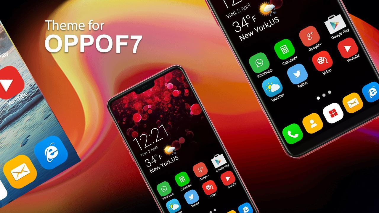 Oppo F7 Launcher for Android - APK Download