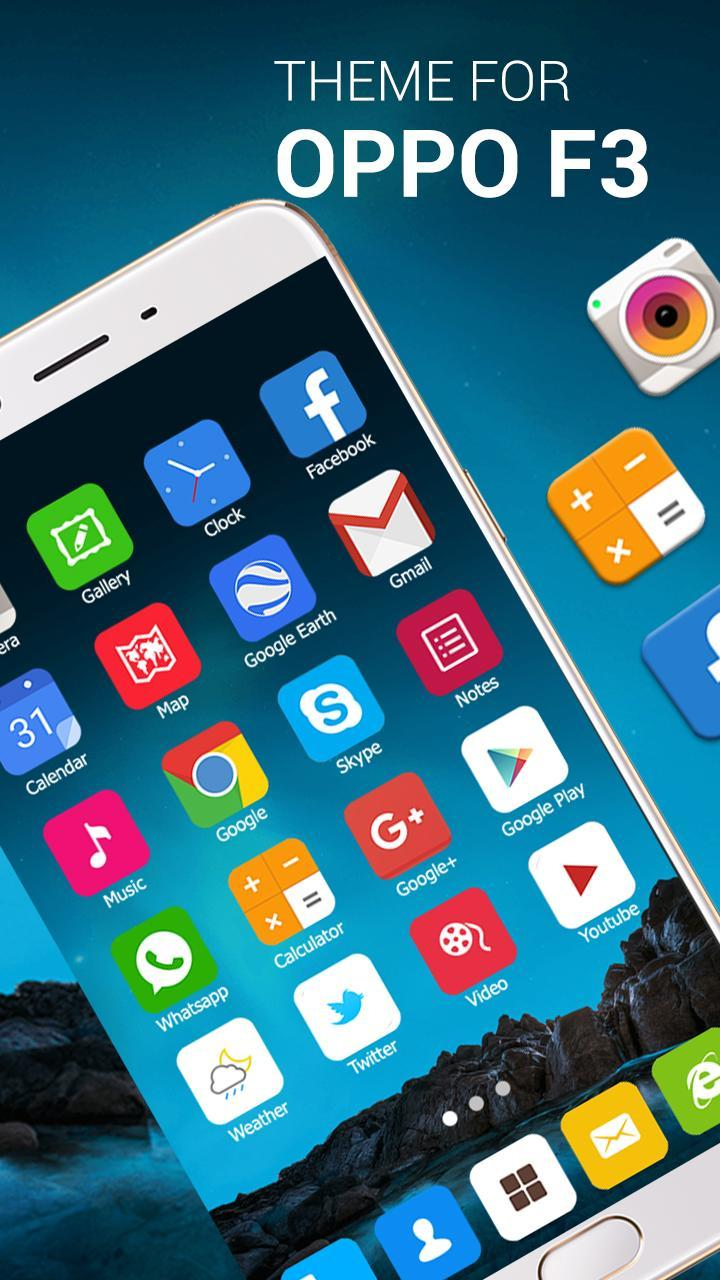 Oppo F3 Launcher for Android - APK Download
