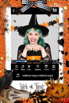 Halloween Photo Video Maker screenshot 2