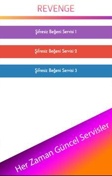 Revenge - Şifresiz Beğeni screenshot 1
