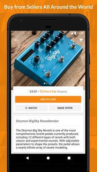 Reverb.com - Buy & Sell Gear capture d'écran 2