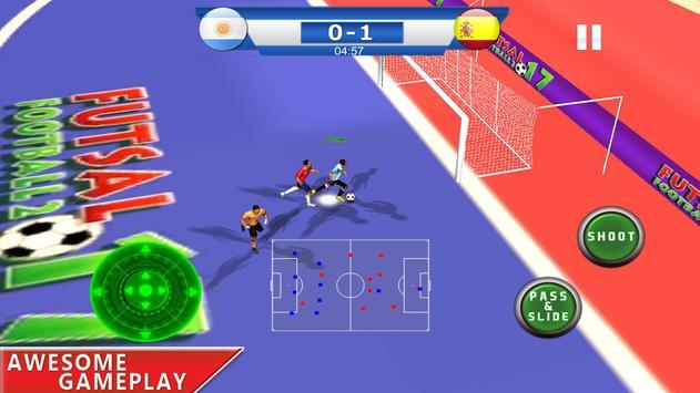 Futsal football 2018 - Soccer and foot ball game screenshot 1