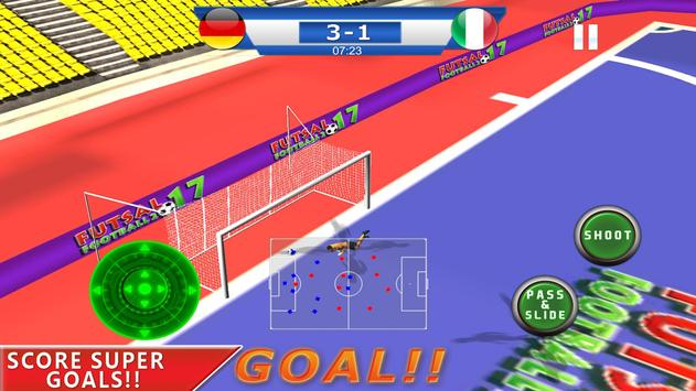 Futsal football 2018 - Soccer and foot ball game screenshot 2