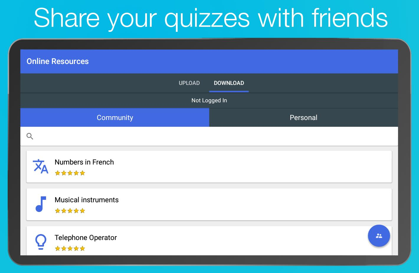 Topgrade Quiz Maker for Android - APK Download