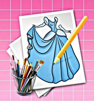 how to draw a dress screenshot 11