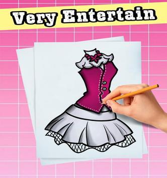 how to draw a dress screenshot 17