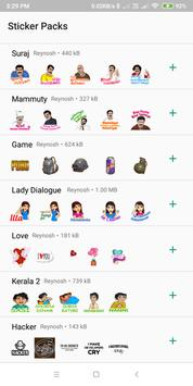 Malayalam Stickers screenshot 1