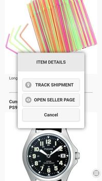Incoming! Follow your online purchases screenshot 1