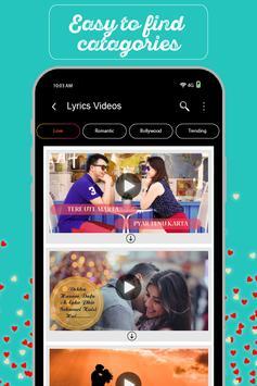 MyPic Status - Lyrical Video Maker With Song screenshot 2