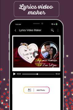 MyPic Status - Lyrical Video Maker With Song screenshot 4