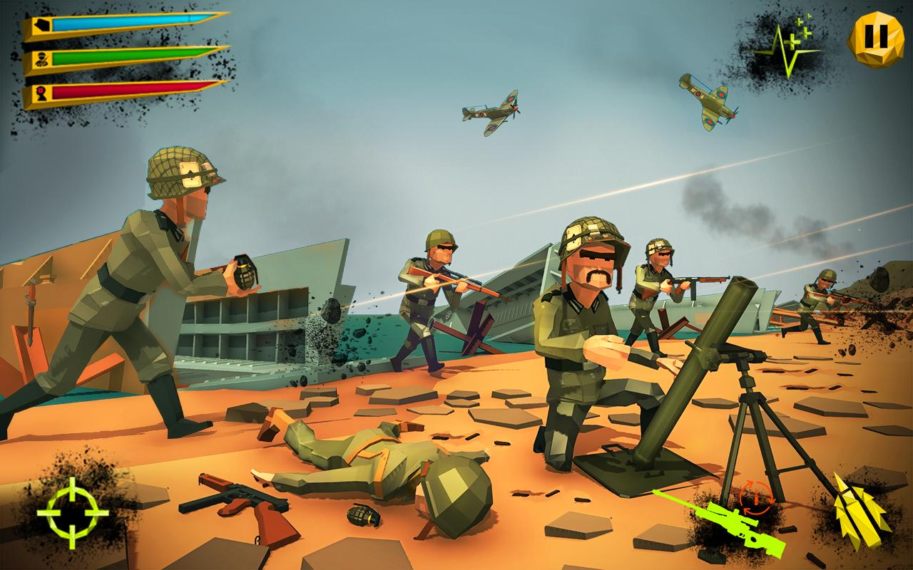 Us Army Battle Ground World War Shooting Games For Android Apk Download