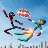Spider Stickman Superhero : Stickman Games icon