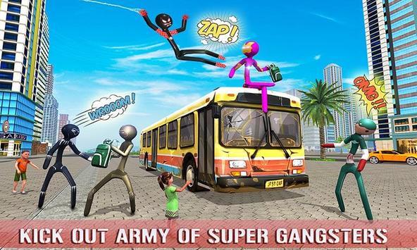 Spider Stickman Superhero : Stickman Games screenshot 3