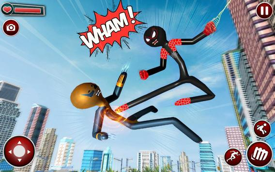 Spider Stickman Superhero : Stickman Games screenshot 4