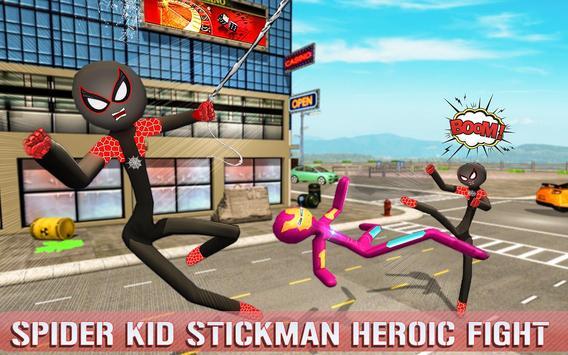 Spider Stickman Superhero : Stickman Games screenshot 6