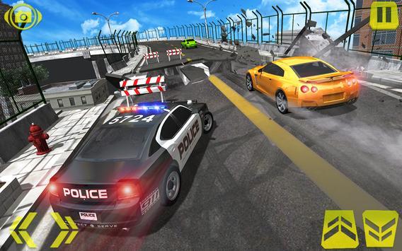 US Police Car Chase Crime City : Car driving Games screenshot 6