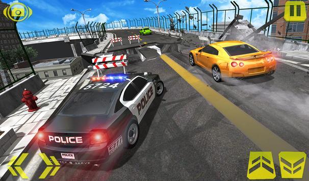 US Police Car Chase Crime City : Car driving Games screenshot 11