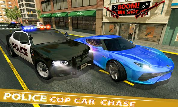 US Police Car Chase Crime City : Car driving Games screenshot 3