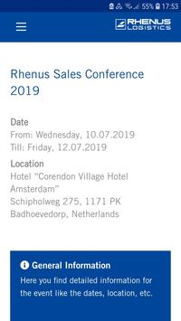 Rhenus Event App screenshot 1