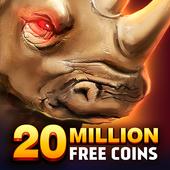 Rhino Fever: Free Slots & Hollywood Casino Games 아이콘