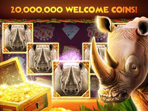 Rhino Fever: Free Slots & Hollywood Casino Games 스크린샷 10