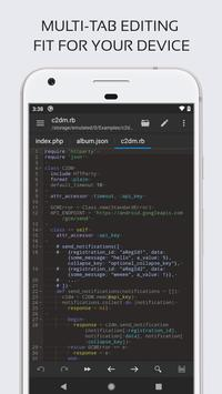 Code Editor screenshot 2