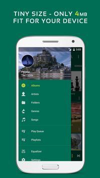 Trình phát nhạc Pulsar - Pulsar Music Player ảnh chụp màn hình 2