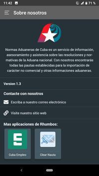Normas Aduaneras de Cuba screenshot 6