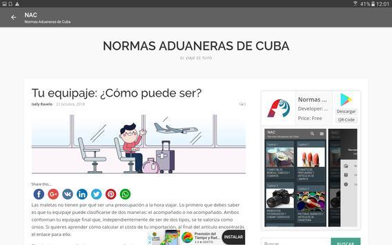 Normas Aduaneras de Cuba screenshot 17