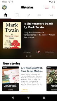 Inkspired Lector - Lee libros e historias gratis captura de pantalla 1