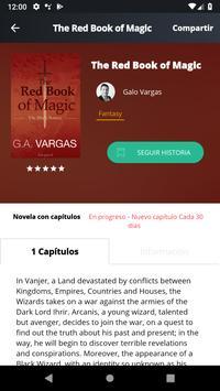 Inkspired Lector - Lee libros e historias gratis captura de pantalla 2