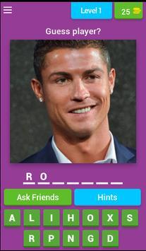 Guess player name screenshot 1
