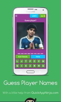 Guess player name screenshot 3