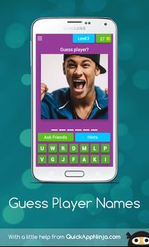 Guess player name screenshot 4